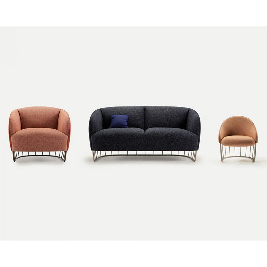 Nova Interiors 301.61.K Tonella Lounge Family