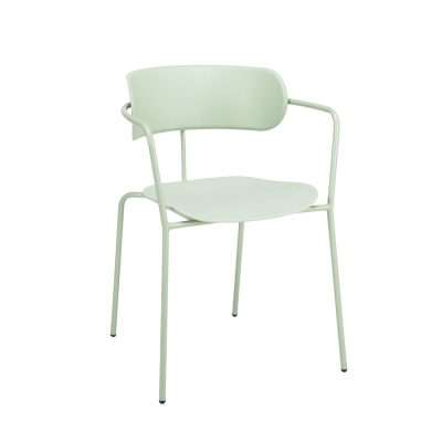 Nova Interiors Barbican Armchair 360550 Pastel Green