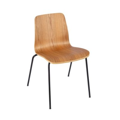 Nova Interiors Copenhagen Chair 4 Leg Laquered Ash