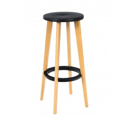 Nova Interiors Heston Barstool Black 360072BL