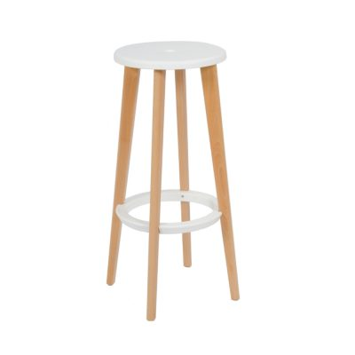 Nova Interiors Heston Barstool White 360072W