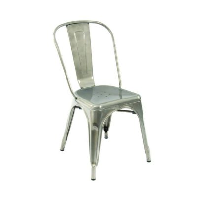Nova Interiors Paris Side Chair 331905 Gunmetal
