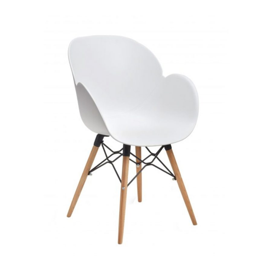 Nova Interiors Shoreditch Armchair K Frame Beech 360047
