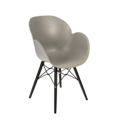 Nova Interiors Shoreditch Armchair K Frame Black 360059